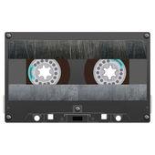 Audio cassette illustration — Stock Photo