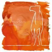 Ramadan greeting card — Stock Vector