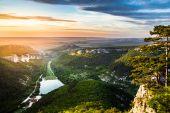 Sunset on Mangup — Foto Stock