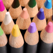 Close up of a group of colored pencils. — Stock Photo #76038275