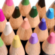 Close up of a group of colored pencils. — Stock Photo #76038285