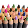 Close up of a group of colored pencils. — Stock Photo #76038295