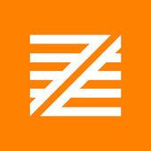 Z letter line logo — Stock Vector