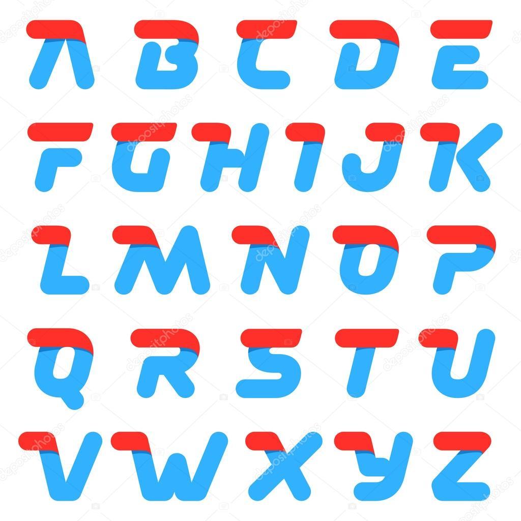 速度快字母圆字母 — 图库矢量图像08 kaer_dstock