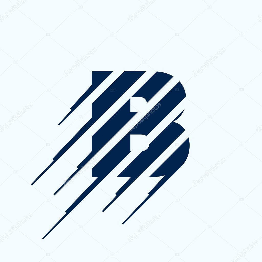 letter b logo design vector wwwimgkidcom the image