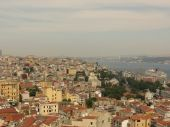 View of Istanbul from Galata tower — Stock Photo
