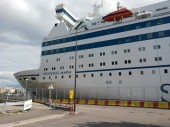 Ferry Princess Maria in port — Stock Photo