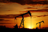 Oil rig energy industrial — Stock Photo