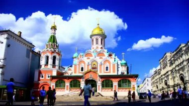 Cathedral of Our Lady of Kazan — Stock Video
