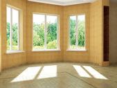 Render empty interior — Stock Photo