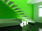 Interior moderno — Fotografia Stock