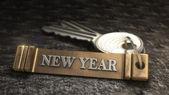 Yeni yılı konsept — Stok fotoğraf