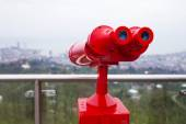 Binoculars for viewing — Stock Photo