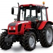 New red tractor — Stock Photo #75844023