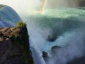 Niagara falls rainbow — Stock Photo