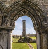 セント ・ アンドリュース大聖堂、ファイフ、スコットランド — ストック写真