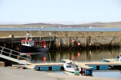Bowmore Harbour, Isle of Islay, Scotland. — Stock Photo