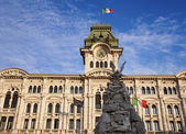 Historical building in Trieste — Stock Photo