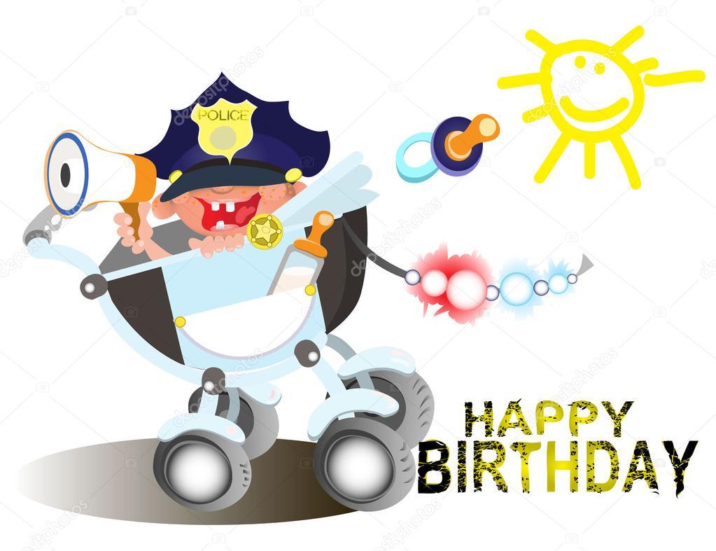 Поздравления с днем рождения гаишнику (сотруднику гибдд) 37
