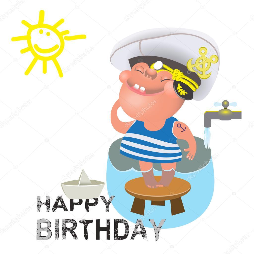 Поздравление с днём рождения моряку в прозе
