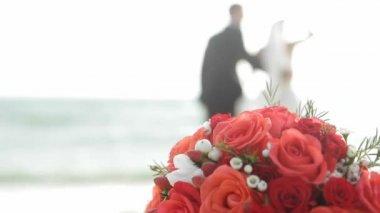Wedding On The Beach — Stock Video