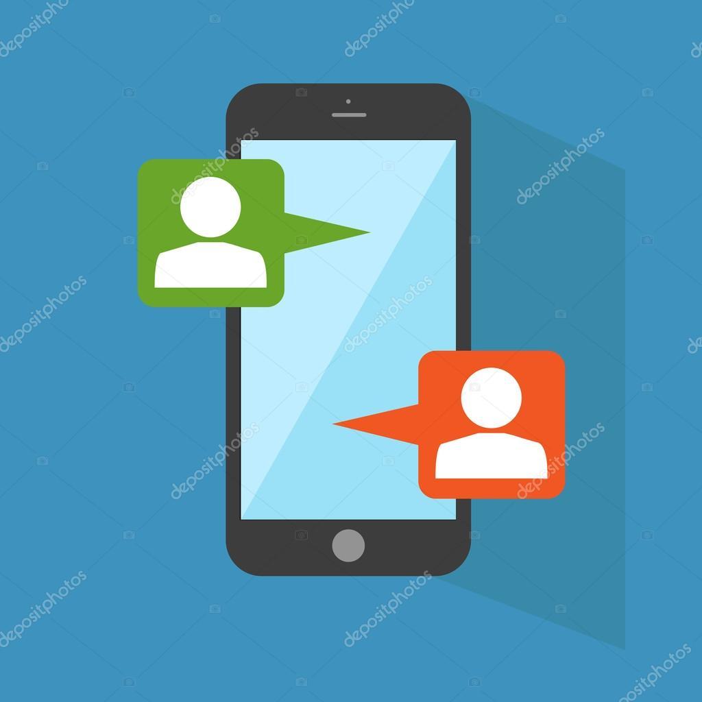 Чаты на мобильный телефон