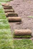 Modular lawn — Stock Photo