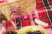 Toy bike — Stock Photo
