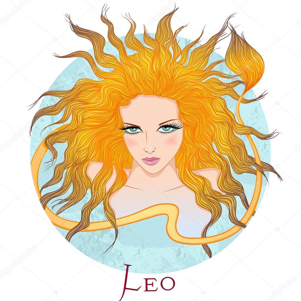 Фото красивые льва девушки
