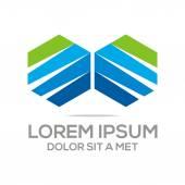 Logo Abstract Element Icon Vector — Stock Vector