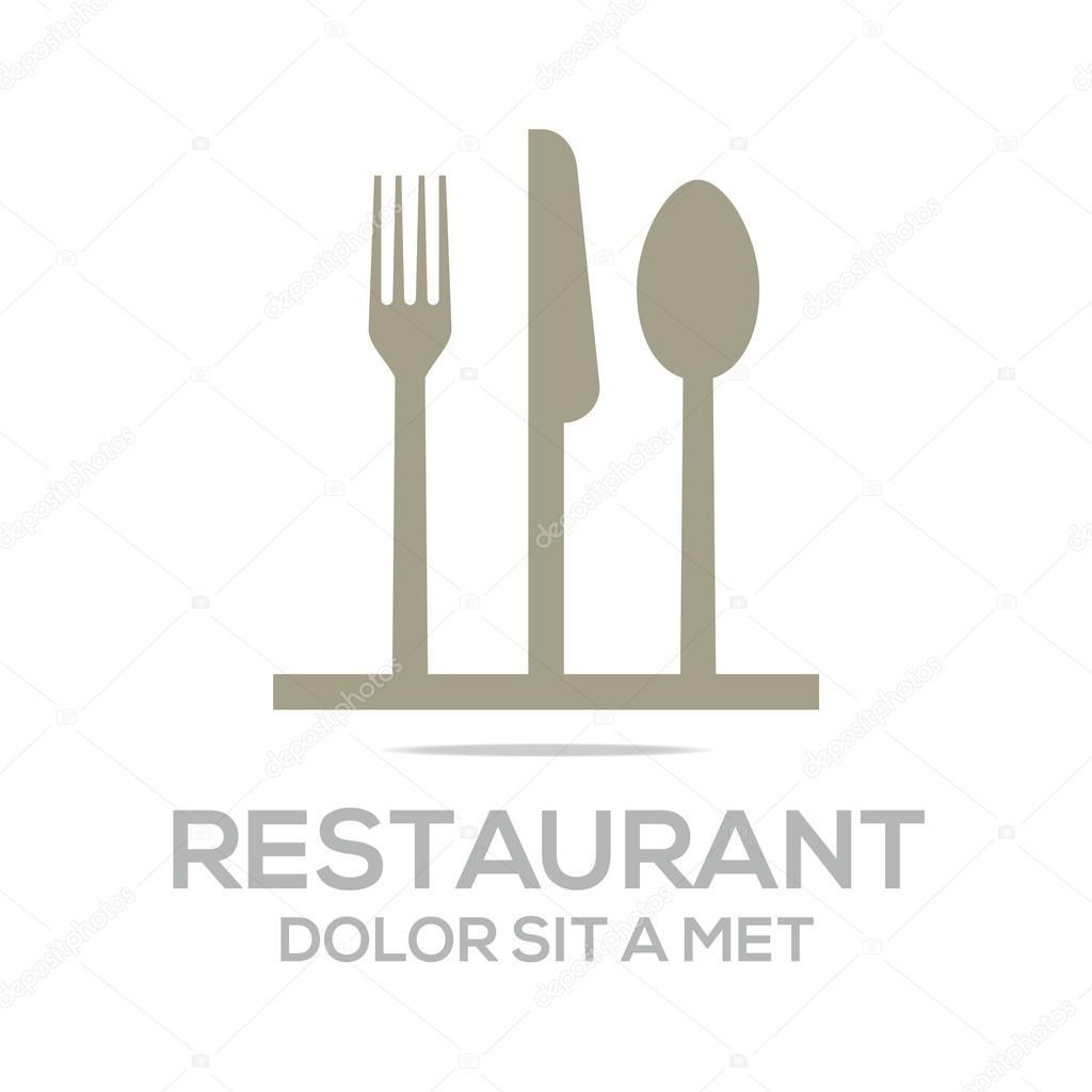 Restaurant Kitchen Utensils: Besteck Love Kitchen Set Utensils Restaurant Logo