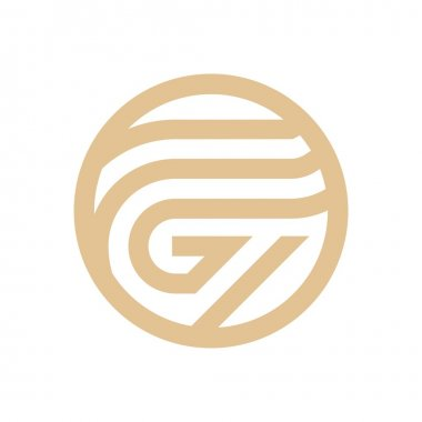 Logo Design Letter G Arch Shapes Symbol Icon Abstract Vector