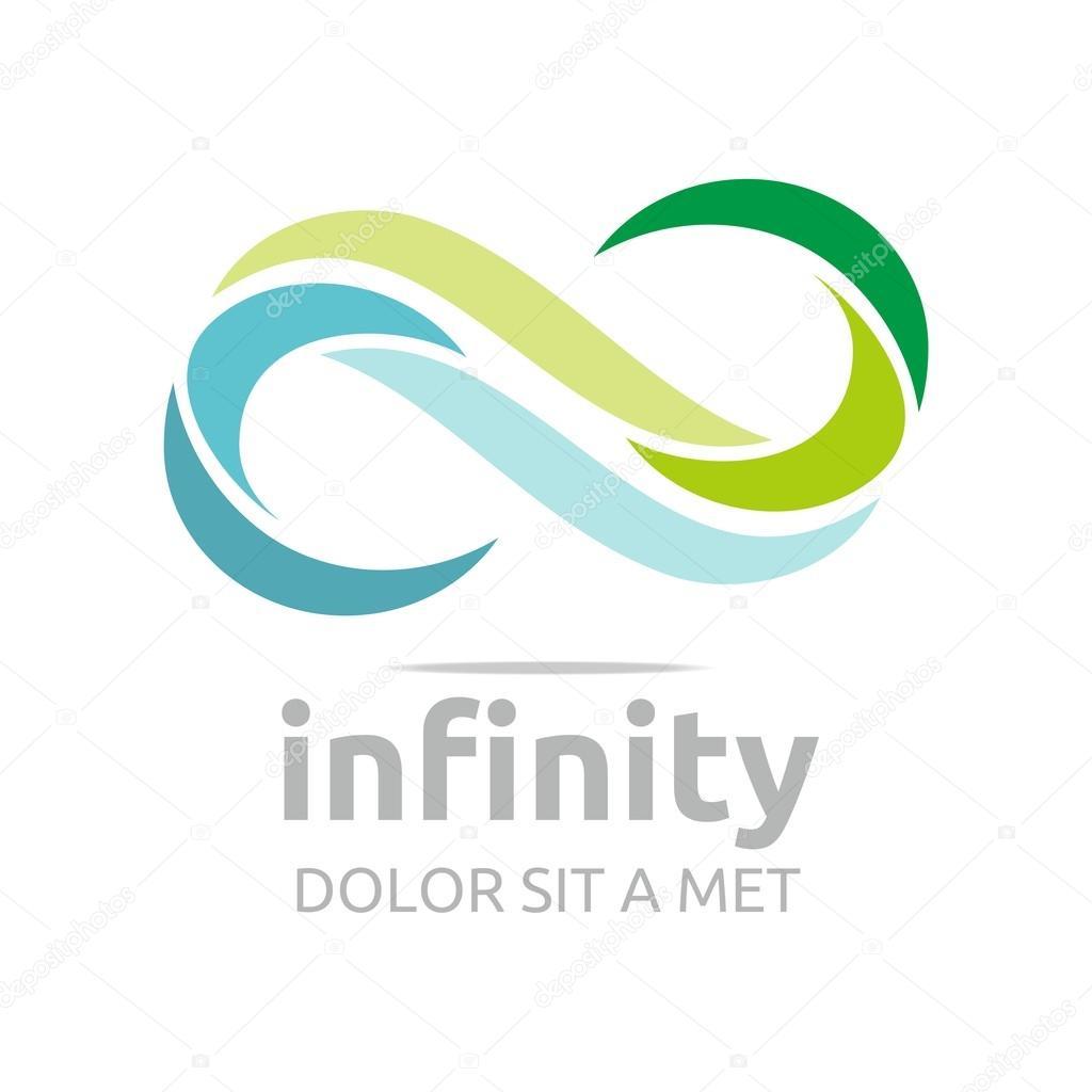 Nieskończoność Logo Firm Firmy Firmy List S Wektor