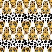 056 leopard pattern 01 — Stock Vector