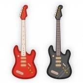 Electric guitars — Stock Vector