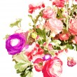 Rose print in bright colors — Stock Photo #77844246