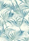 Tropical leaves pattern — Stock Vector