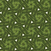 Abstract, seamless, green, floral pattern — Stock Photo