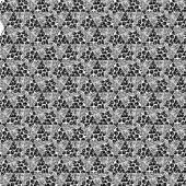 Pattern with mixed animal skin motifs — Stock Photo