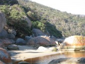 Wilsons Promontory National Park Australia  -  Stock Image — Stock Photo