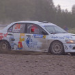 Rally race on a dirt track — Stock Photo #78635964