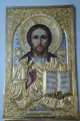 Icona di Gesù Cristo — Foto Stock