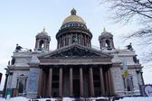 Saint Isaac's Cathedral in winter — Stock Photo