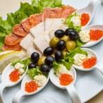 Fish platter — Stock Photo #76848563