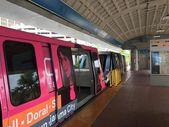 Metromover in Miami Downtown — Stock Photo