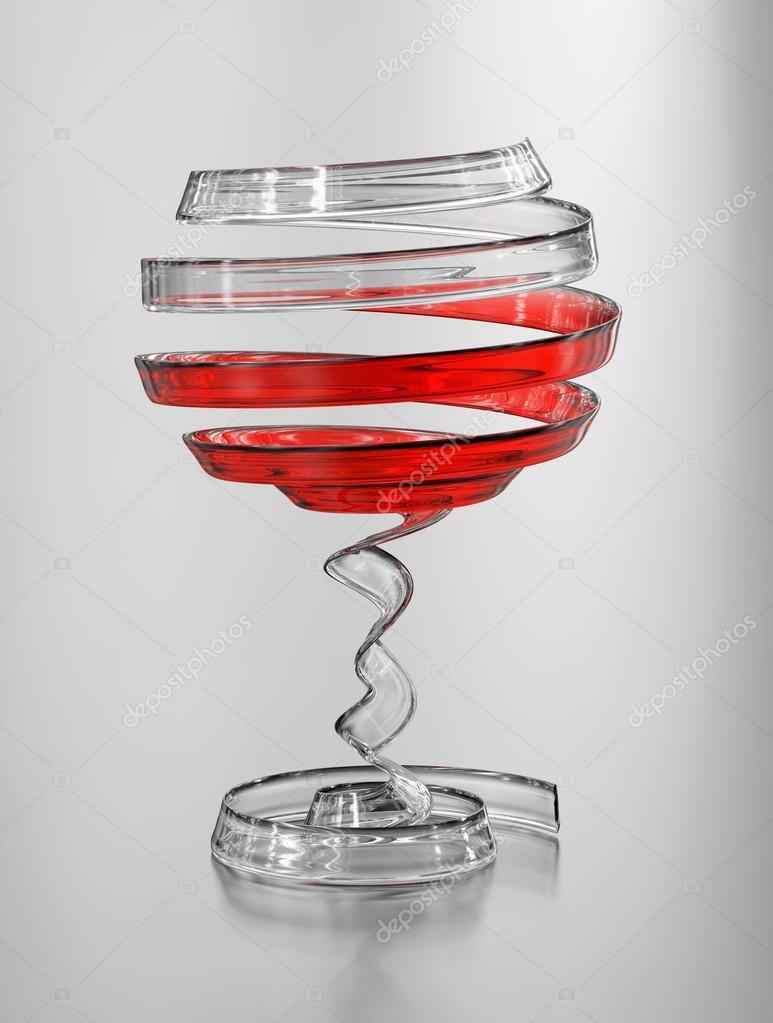 un r sum et artistique verre de vin rouge concept original photo 83219398. Black Bedroom Furniture Sets. Home Design Ideas