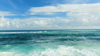 Ocean Scenic Landscape. — Stock Video