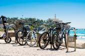 Bicycles in Tel Aviv — Stock Photo