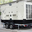 Industrial Backup Generator for Office Building — Stock Photo #81833438