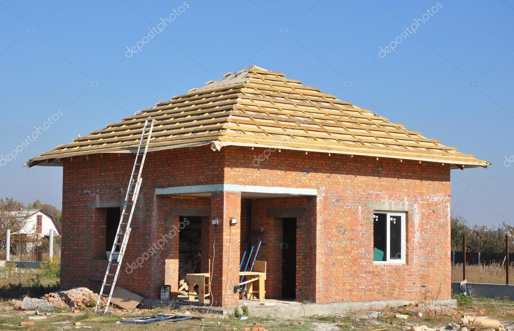 Nuevo techo membrana cubiertas construcci n casa de madera for Techos exteriores para casas